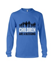 Children are a blessing Long Sleeve Tee thumbnail