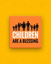 Children are a blessing Square Magnet aos-magnets-square-front-lifestyle-3