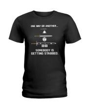 DND Stabbed Ladies T-Shirt thumbnail