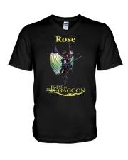 Rose V-Neck T-Shirt thumbnail