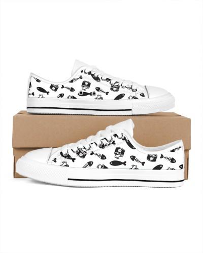 Trending Fish Bone Cat Shoe Newest