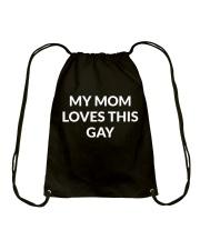 My Mom Loves This Gay T-shirt Hoodie Sweatshirt Drawstring Bag thumbnail