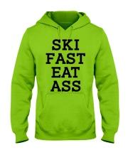 Ski Fast Eat Ass Sweatshirt Hoodie Skate Tshirt Hooded Sweatshirt front