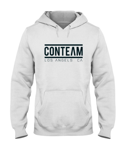 Conteam Fire White Hoodie Merch