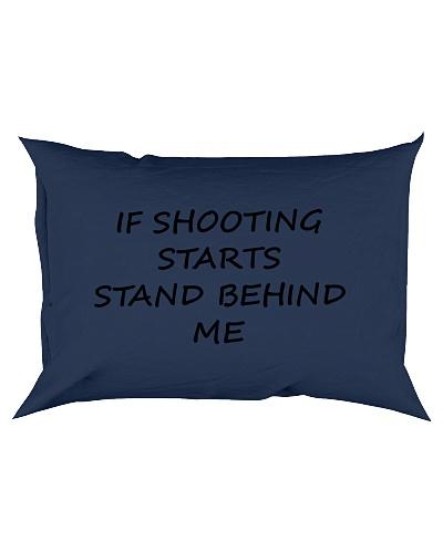 If Shooting Starts Stand Behind Me Tshirt Hoodie