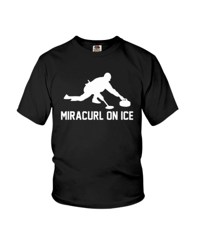 Miracurl On Ice Tshirt Curling Hoodie Tee Sweater