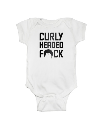 Curly Headed Fuck Tshirt Tops Cap Sweater Hoodie