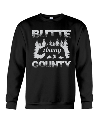 Butte County Bear Strong Sweatshirt Hoodie T-shirt