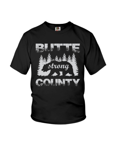Butte County Bear Strong Sweatshirt Hoodie T-shirt
