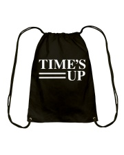Time's Up Campaign Rally Tshirt - WomensMarch2018 Drawstring Bag thumbnail