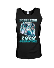 Bobsleigh Player 2020 Quarantined Shirt Unisex Tank thumbnail