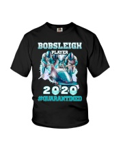 Bobsleigh Player 2020 Quarantined Shirt Youth T-Shirt thumbnail