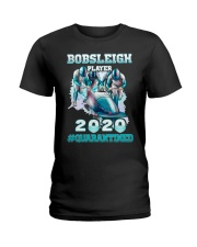 Bobsleigh Player 2020 Quarantined Shirt Ladies T-Shirt thumbnail