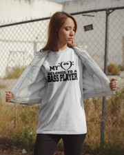 My Heart Belongs To A Bass Player Shirt Classic T-Shirt apparel-classic-tshirt-lifestyle-07