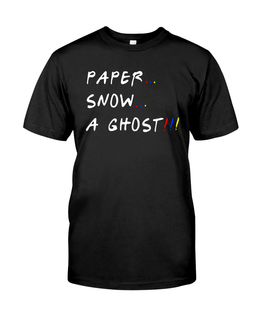 Paper Snow A Ghost Shirt Premium Fit Mens Tee