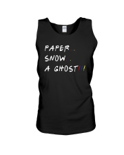 Paper Snow A Ghost Shirt Unisex Tank tile