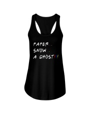 Paper Snow A Ghost Shirt Ladies Flowy Tank thumbnail