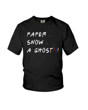Paper Snow A Ghost Shirt Youth T-Shirt thumbnail