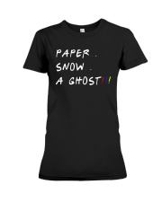 Paper Snow A Ghost Shirt Premium Fit Ladies Tee thumbnail