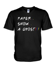 Paper Snow A Ghost Shirt V-Neck T-Shirt thumbnail