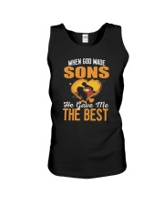 When God Made Sons He Gave Me The Best Shirt Unisex Tank thumbnail