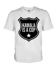 Tim Miller Kamala Is A Cop Shirt V-Neck T-Shirt thumbnail