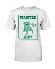 Wanted Seated And Dangerously Cute 1440 Shirt Classic T-Shirt front