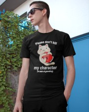 Cat Dungeon Please Dont Kill My Character Shirt Classic T-Shirt apparel-classic-tshirt-lifestyle-17