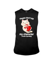 Cat Dungeon Please Dont Kill My Character Shirt Sleeveless Tee thumbnail