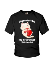 Cat Dungeon Please Dont Kill My Character Shirt Youth T-Shirt thumbnail