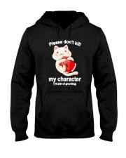 Cat Dungeon Please Dont Kill My Character Shirt Hooded Sweatshirt thumbnail