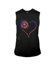 Heart Diamond Sunflower Emt Shirt Sleeveless Tee thumbnail
