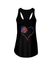Heart Diamond Sunflower Emt Shirt Ladies Flowy Tank thumbnail