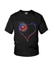 Heart Diamond Sunflower Emt Shirt Youth T-Shirt thumbnail