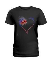 Heart Diamond Sunflower Emt Shirt Ladies T-Shirt thumbnail