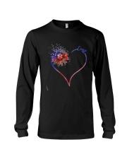 Heart Diamond Sunflower Emt Shirt Long Sleeve Tee thumbnail