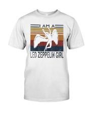 Vintage I Am A Led Zeppelin Girl Shirt Premium Fit Mens Tee thumbnail