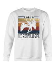Vintage I Am A Led Zeppelin Girl Shirt Crewneck Sweatshirt thumbnail