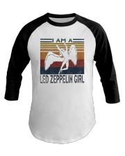 Vintage I Am A Led Zeppelin Girl Shirt Baseball Tee thumbnail