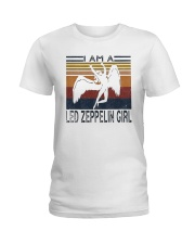 Vintage I Am A Led Zeppelin Girl Shirt Ladies T-Shirt thumbnail