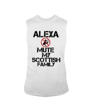 Alexa Mute My Scottish Family Shirt Sleeveless Tee thumbnail