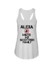 Alexa Mute My Scottish Family Shirt Ladies Flowy Tank thumbnail