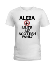 Alexa Mute My Scottish Family Shirt Ladies T-Shirt thumbnail