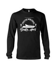 Boats And Hoes Shirt Step Brothers Long Sleeve Tee thumbnail