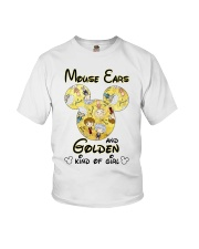 Mickey Mouse Ears And Golden Kind Of Girl Shirt Youth T-Shirt thumbnail
