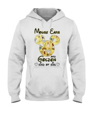 Mickey Mouse Ears And Golden Kind Of Girl Shirt Hooded Sweatshirt thumbnail