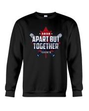 Baseball 2020 Apart But Together Toronto Shirt Crewneck Sweatshirt thumbnail