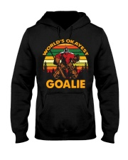 Vintage Hockey World's Okayest Goalie Shirt Hooded Sweatshirt thumbnail