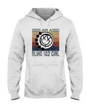 Vintage I Am A Blink 182 Girl Shirt Hooded Sweatshirt thumbnail