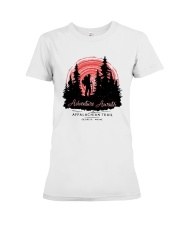 Adventure Awaits Appalachian Trail Shirt Premium Fit Ladies Tee thumbnail